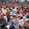沖縄・金武町 緊急抗議県民集会 米軍実弾演習強行に抗議し1万人終結