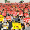 佐賀空港へのオスプレイ配備計画に反対する住民集会に1400人 佐賀市川副町