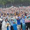 揺るがぬ基地撤去の決意 翁長知事の遺志継ぐ 辺野古新基地建設断念を求める8・11沖縄県民大会