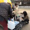 宅配式の給水活動システムを 断水から1ヶ月たつ周防大島町 高齢者は遠慮と辛抱で疲労蓄積