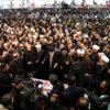 ソレイマニ司令官の葬列に数百万人の群衆 イラン各地で過去最大規模 「米軍は中東から撤退せよ」