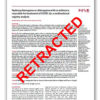 医学論文誌の最高権威に掲載された新型コロナ研究論文 不正発覚し取り下げの衝撃
